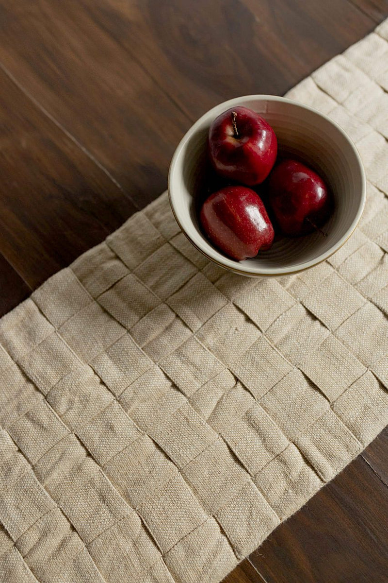 Double Entendre - Table Runner - Veaves