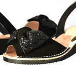 Betsy Low Black Wedge