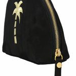 Palmaira half moon clutch
