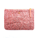 Candy Glitter mini clutch bag