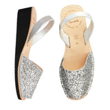 Sparkle Low Black Wedge