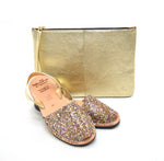 Multi Glitter Palmaira Clutch Bag