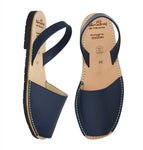 Men's Navy Leather
