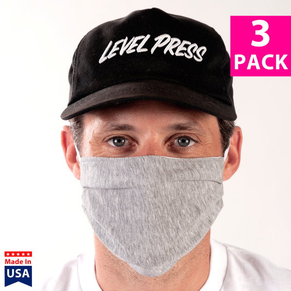 Daily Face Cover 3-Pack (GREY)