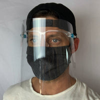 Safety Goggle Face Shield/Daily Face Cover Combo - 1 Shield/2 Masks