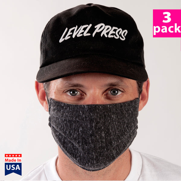 Daily Face Cover 3-Pack (CHARCOAL)