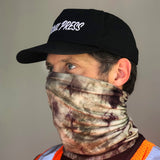 Camo Tie Dye - Face Shield Scarf - 2 Pack