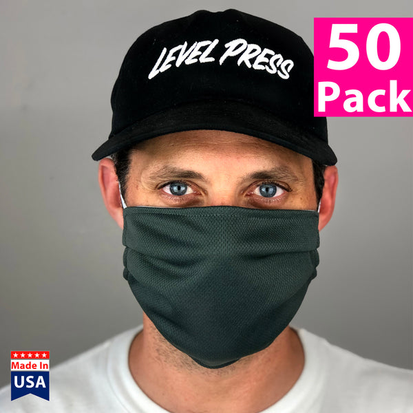 Daily Face Cover 50-Pack (REVERSIBLE SPORT FABRIC)