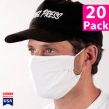 Daily Face Cover 20 Pack - (White)