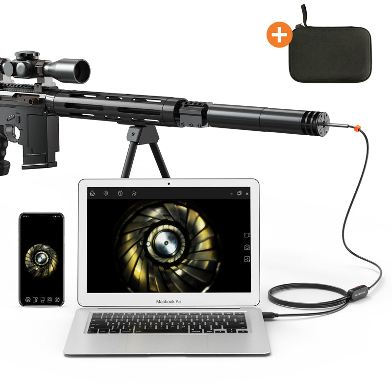 Rifle Borescope, 720P Digital Gun Barrel Inspection Camera