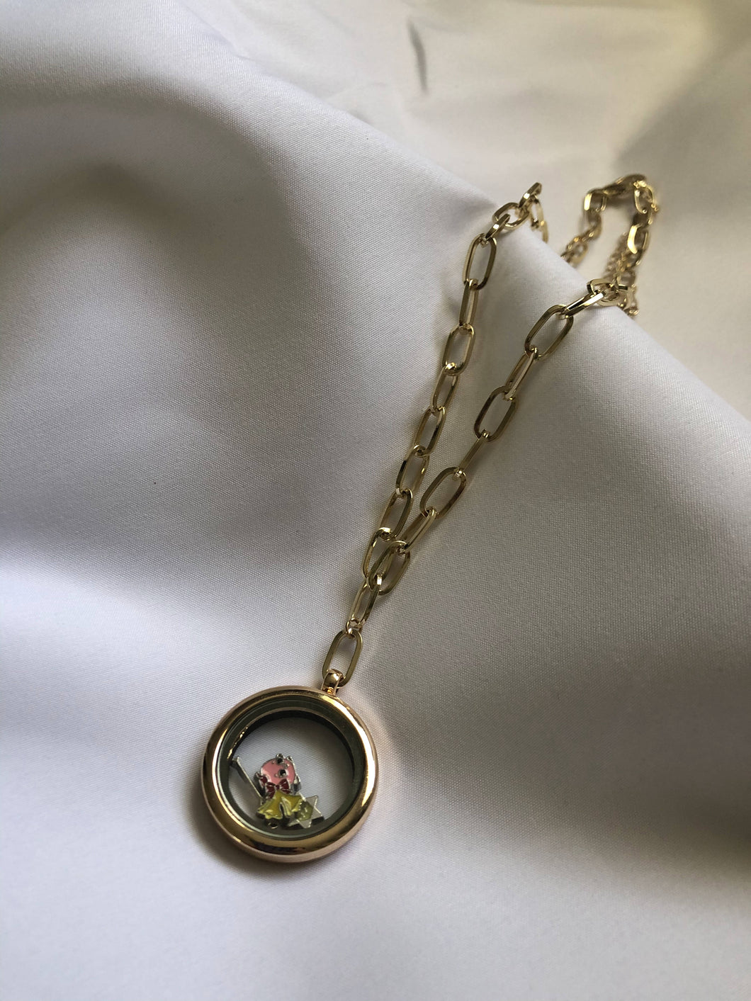 Memory Locket in Gold
