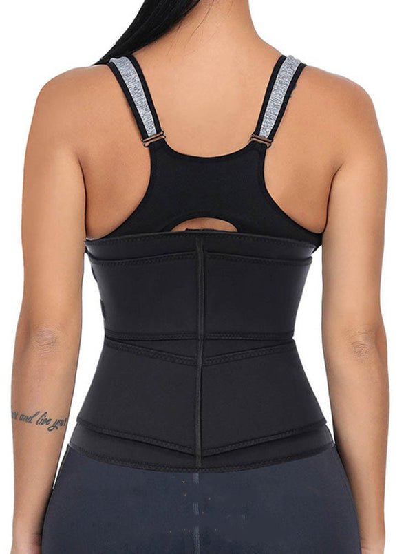 Women Waist Trainer Corset Sauna Sweat Faja Sport Girdle Slimming Shaper