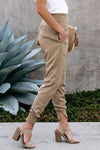 Women's Pocketed Cotton Joggers