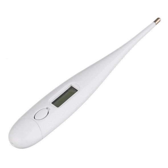 Oral Digital LCD Thermometer Baby Kids Adult Temperature Mouth Body Beeper