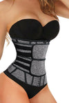 Gray Slimming Shaper Waist Trainer