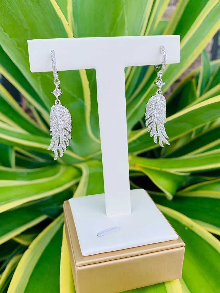 Countess Plume Earrings - THE VILLAGE JEWELER