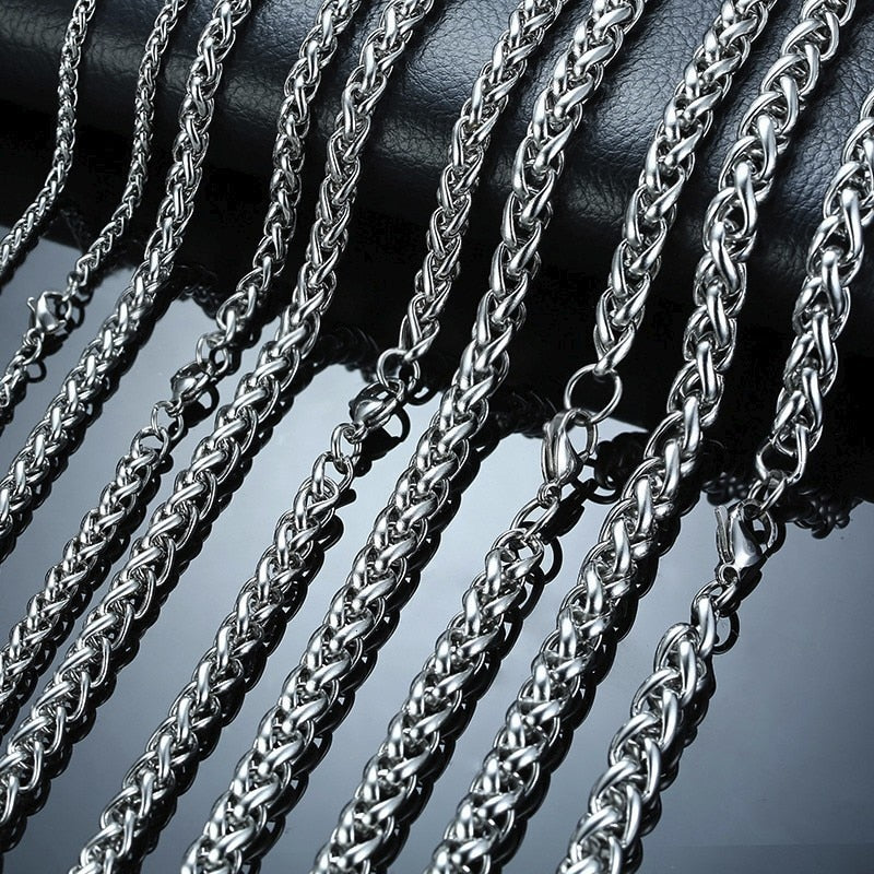 Stainless Steel Wheat Chain