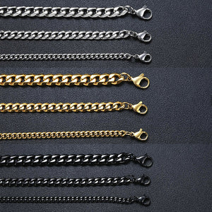 Stainless Steel Cuban Link Chain