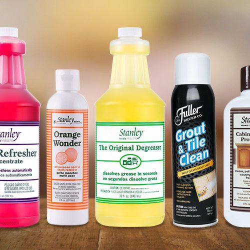 Stanley Home Products - Home Cleaning Supply Checklist