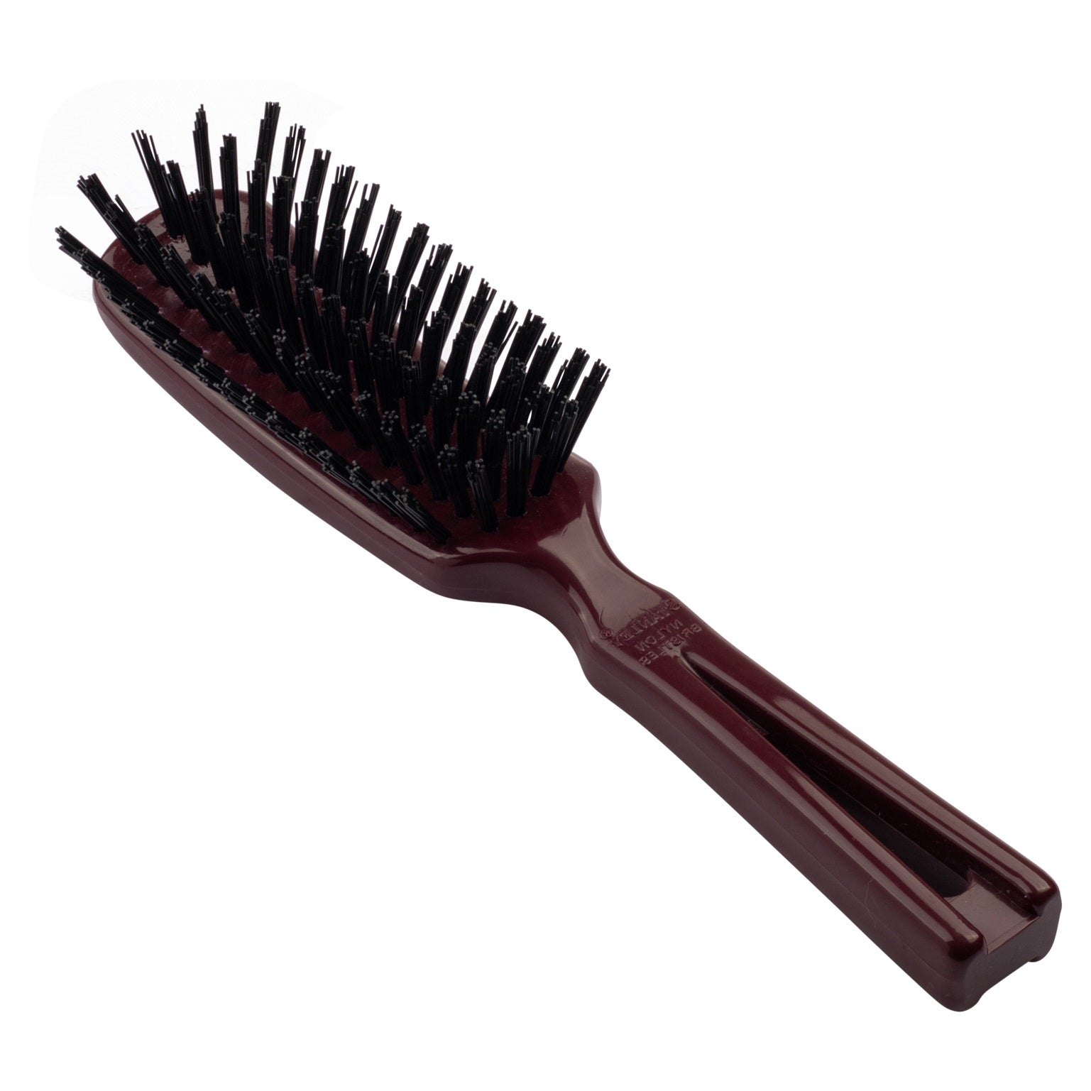 Commander Womens Hairbrush For Tough Hair, Wet or Dry Any length - Mulberry