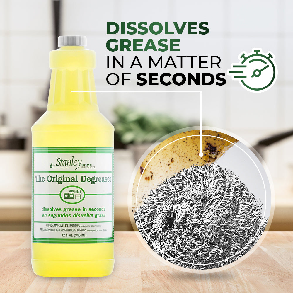 Original Degreaser, Kitchen & Home Multipurpose Cleaning Solution