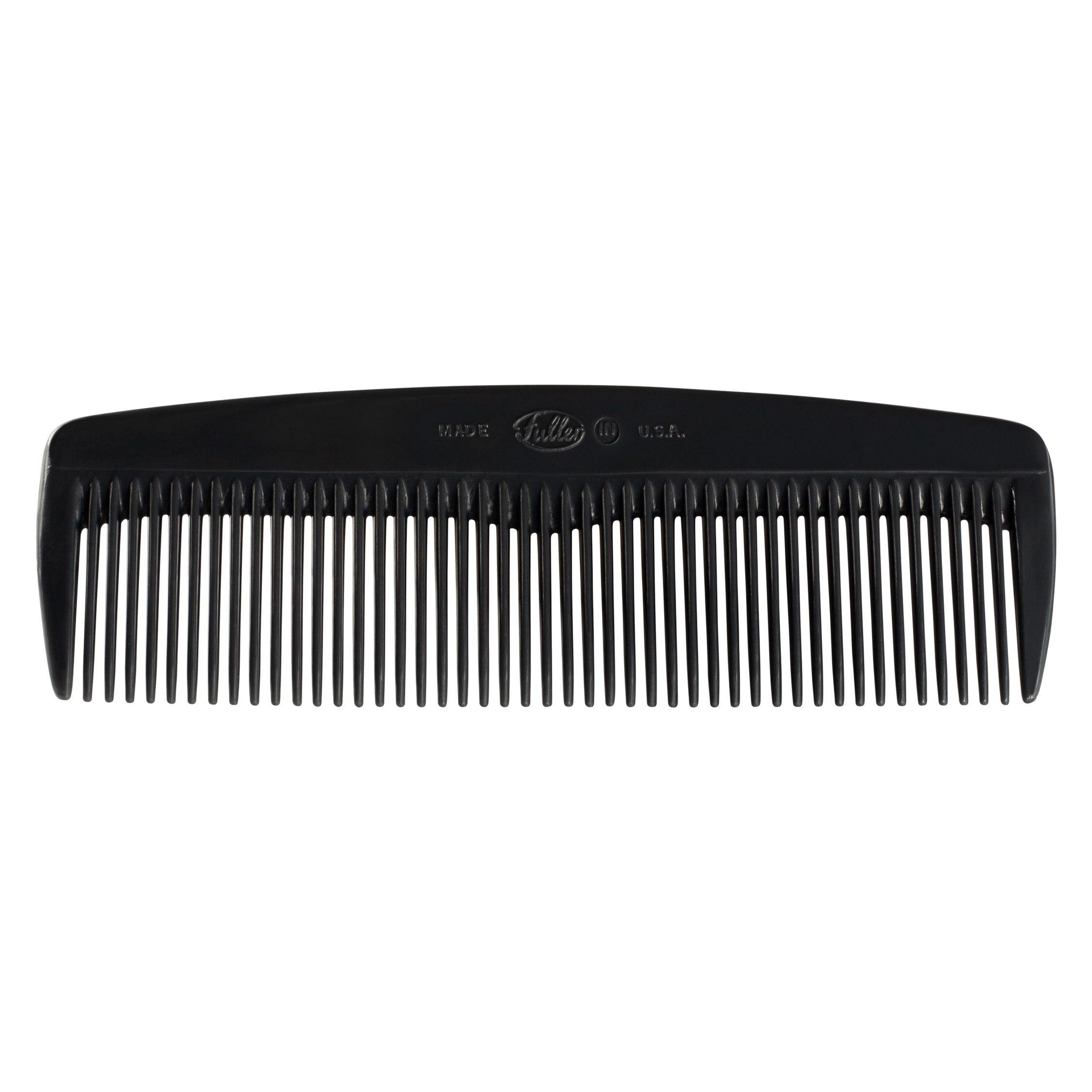 House of Fuller® Mens Classic Hair Comb - Black