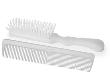Lady Catherine Hairbrush & Ladies Styling Comb Set, For Long & Short Hair