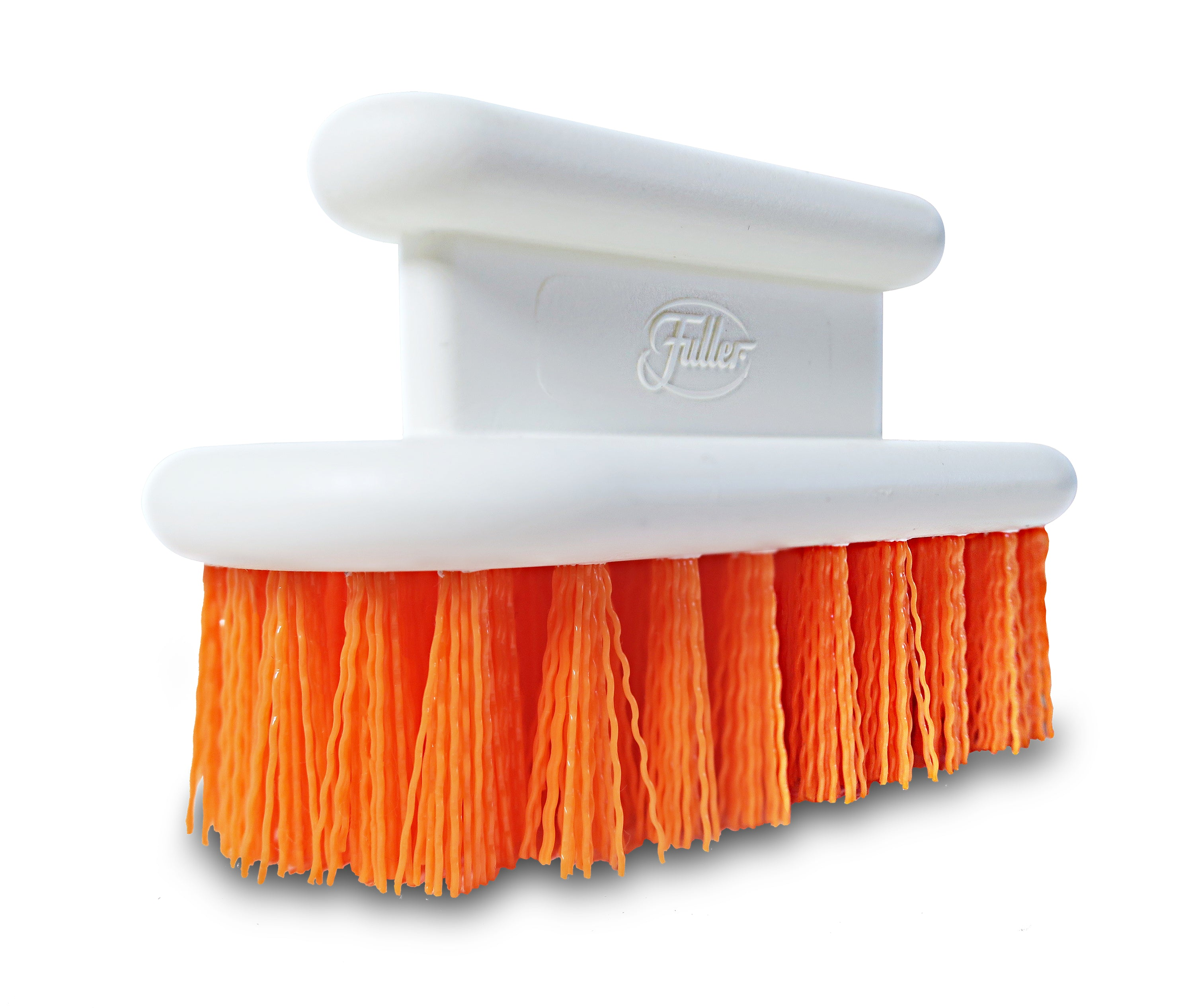 Orange Scrub Brush - All Purpose Scrubber For Tough Stain Removal