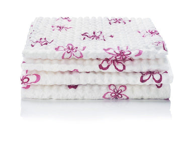 Pretty & Pink Highly Absorbent Quilted Cleaning Cloths (4 Pack)