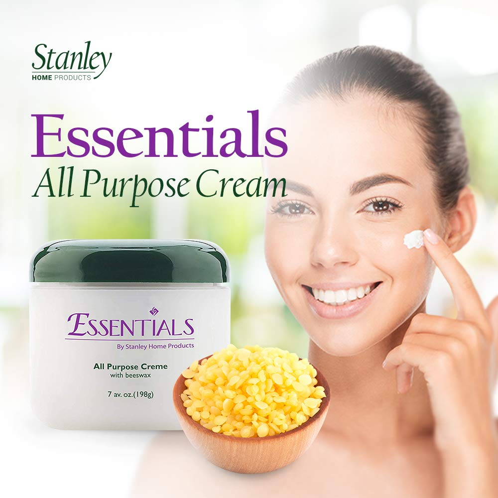 All-Purpose Cream, Emollient Rich Beeswax Lotion, Nourish & Hydrate