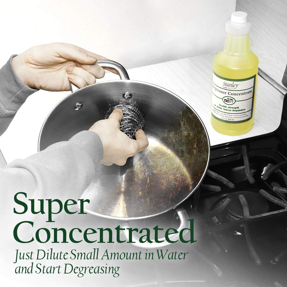 Degreaser Concentrate - Stubborn Grease Remover & Cleaning Solution