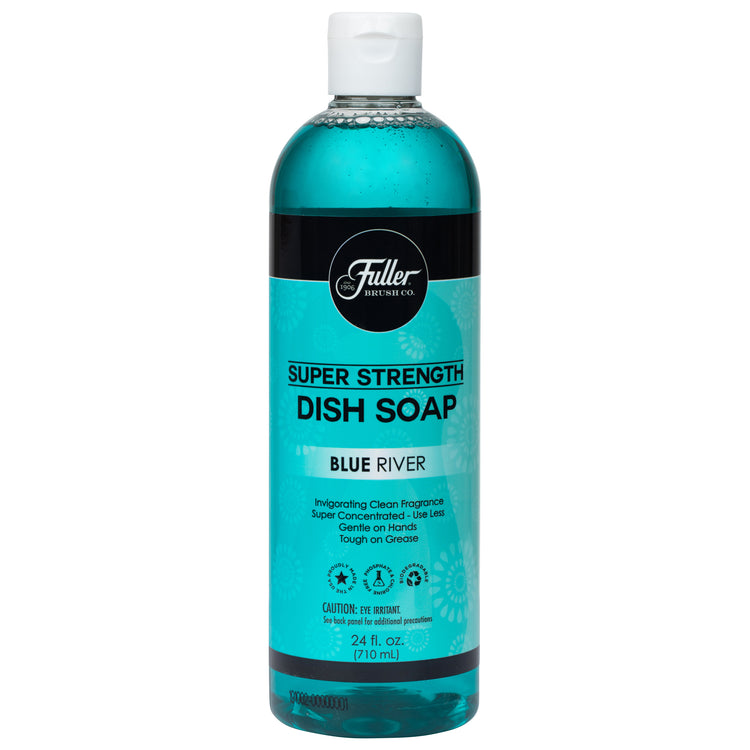 Dish Soap Super Strength - Blue River Invigorating Clean Fragrance