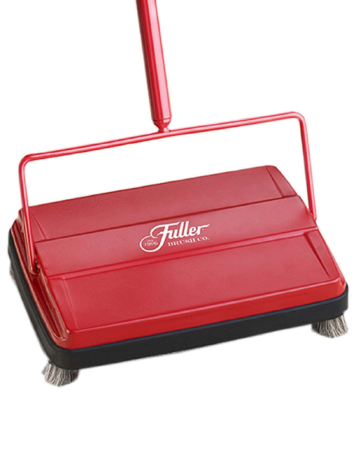 Electrostatic Carpet & Floor Sweeper - Red