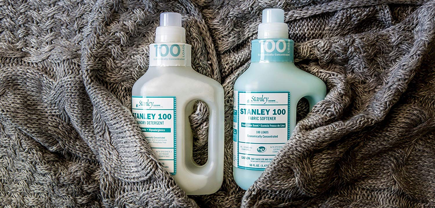 100 Load, Hypoallergenic Fabric Softening Conditioner, Fresh Linen Scent