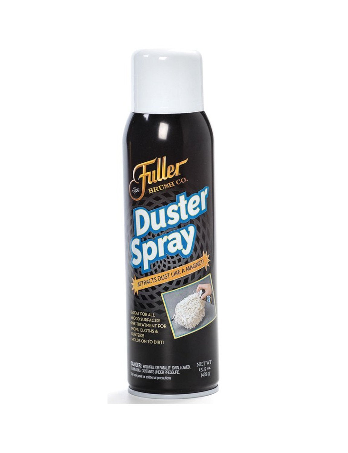 Duster Spray - Wood & Multi Surface Dust Attractor & Cleaner – 15.5 oz