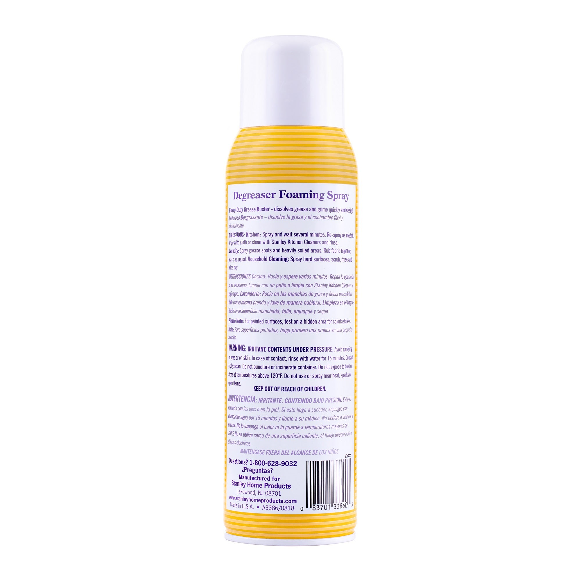 Degreaser Concentrate Foaming Spray