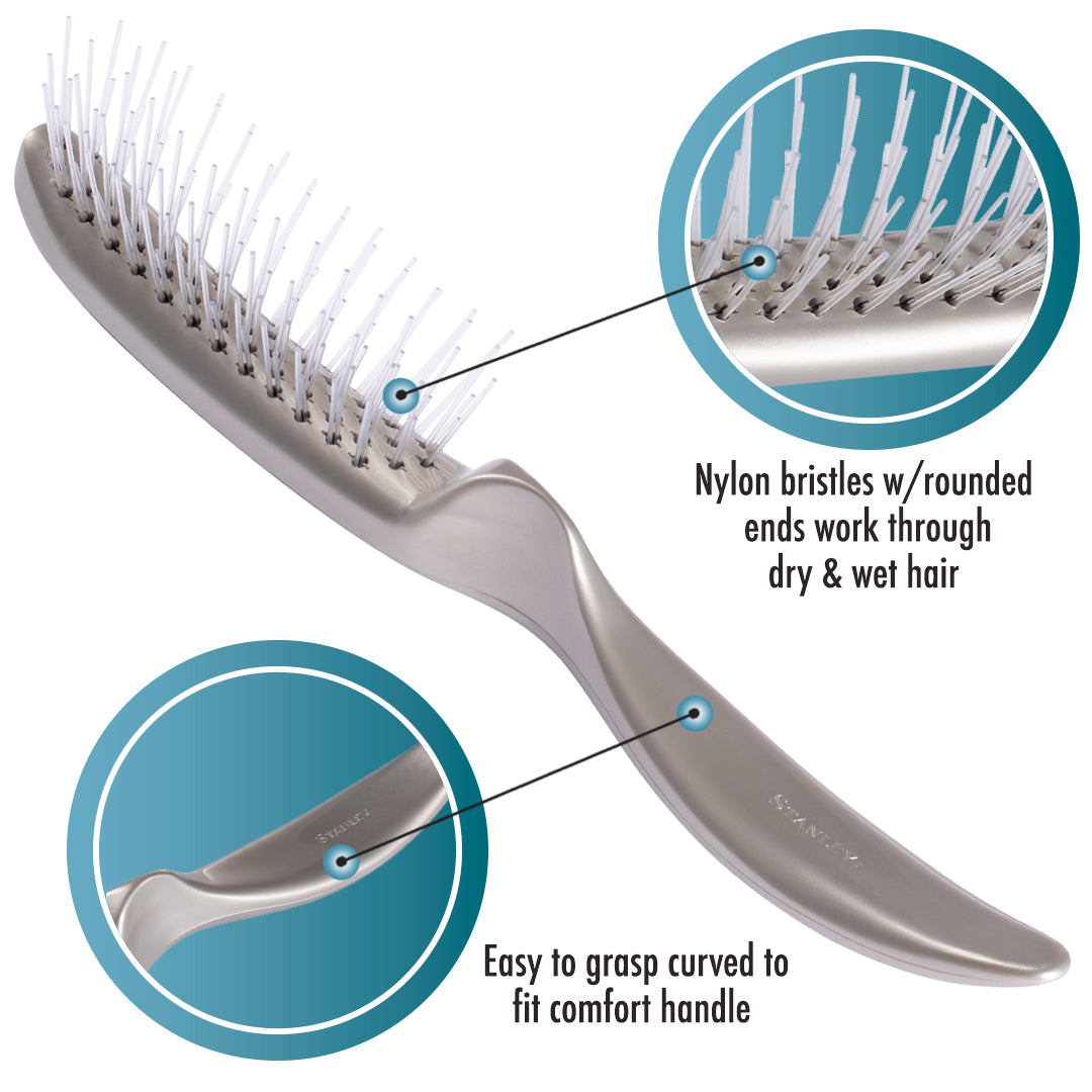Essentials Detangling Brush - Glider Brush For Styling & Blow-Drying