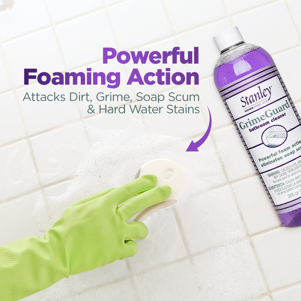 GrimeGuard Bathroom Cleaner, Cleans Mold Mildew - Prevents Calcium Build Up