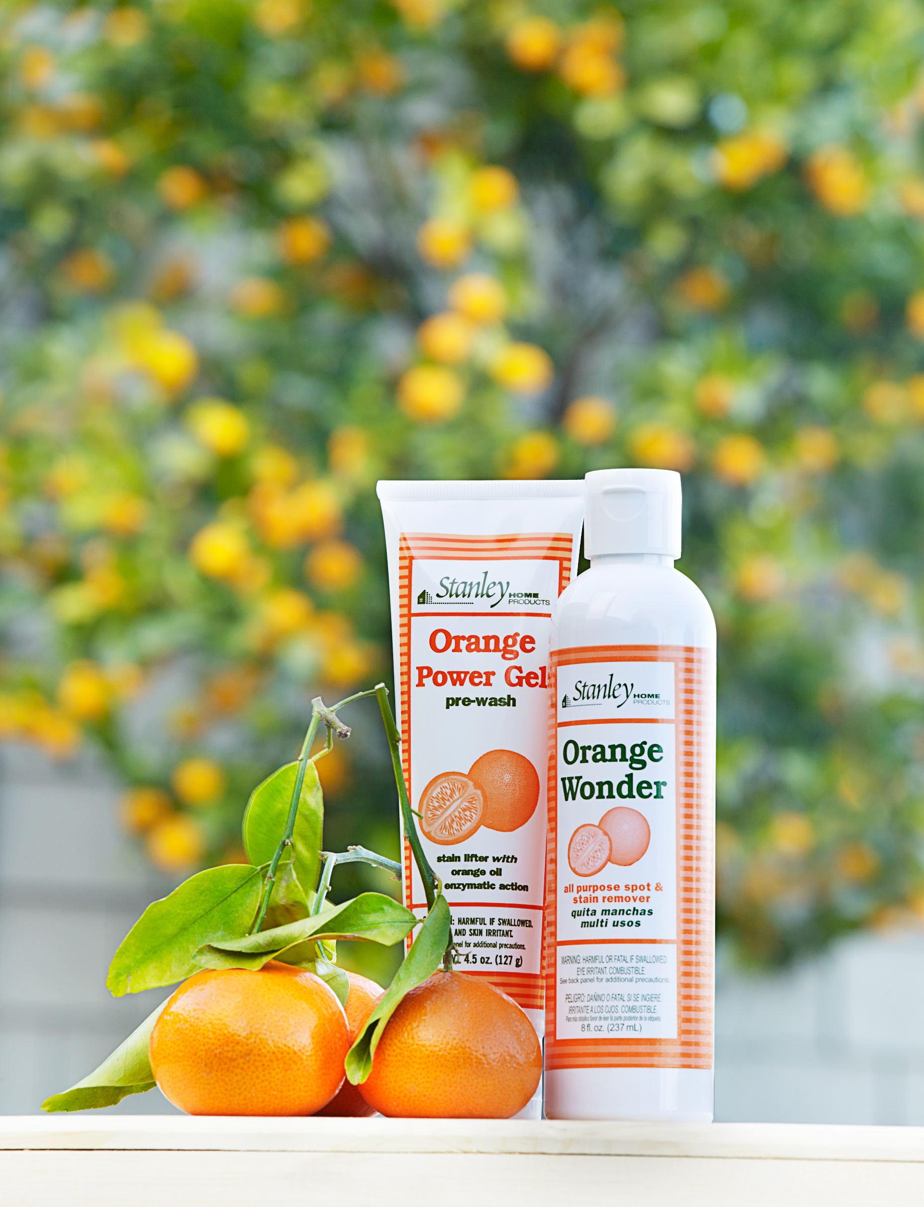 Orange Wonder Spot & Stain Remover - All-Purpose & Eco-Friendly 8 oz.