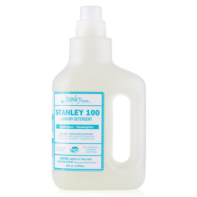 100 Laundry Detergent Hypoallergenic & Fragrance Free - Color Safe