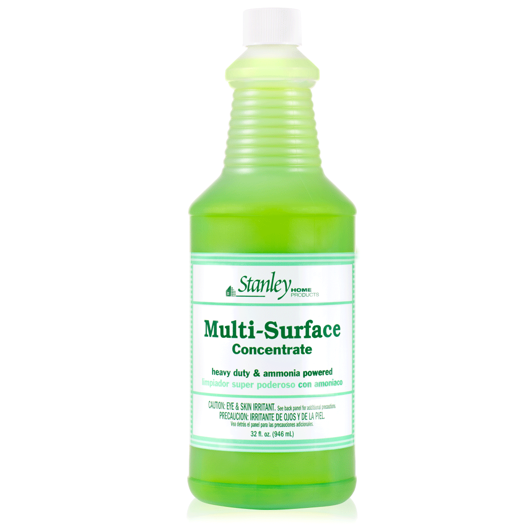 Surface Cleaner Countertop & Tile Cleaner Concentrate w/ Ammonia