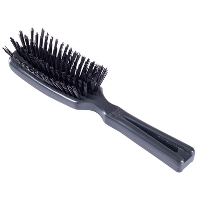 Commander Men's Hairbrush For Tough Hair Wet or Dry Any length - Black