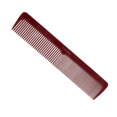 Essentials Ladies Comb, Dual Sided Coarse and Fine Tooth Design - Mulberry