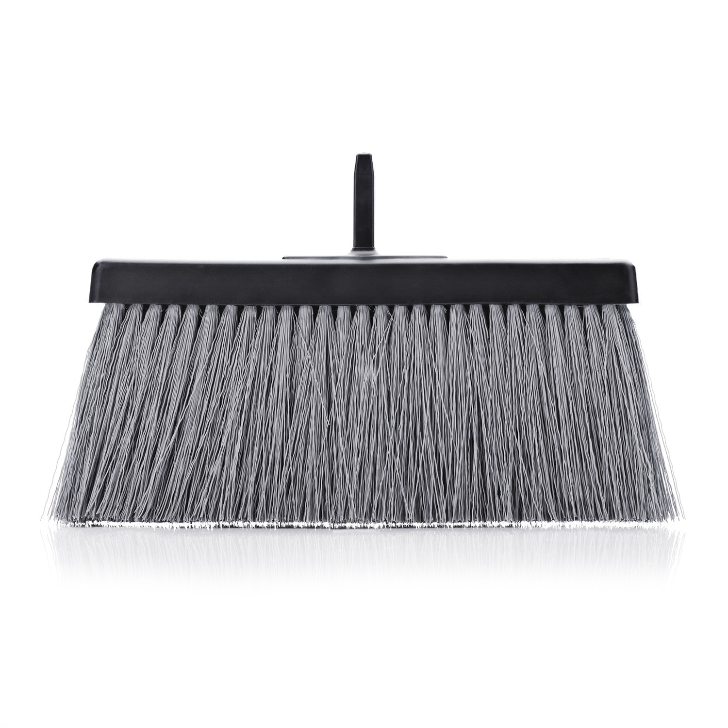 Stanely Black Slender Broom Head - Compact and Trim - For All Floors