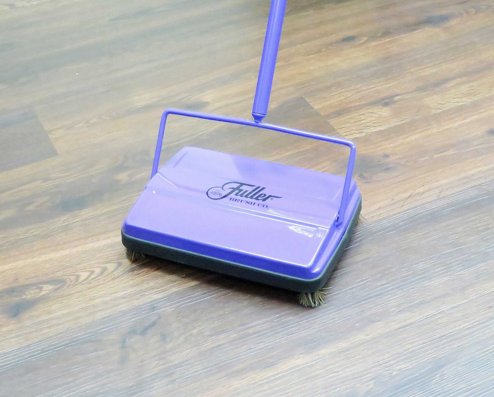 Electrostatic Carpet & Floor Sweeper - Purple