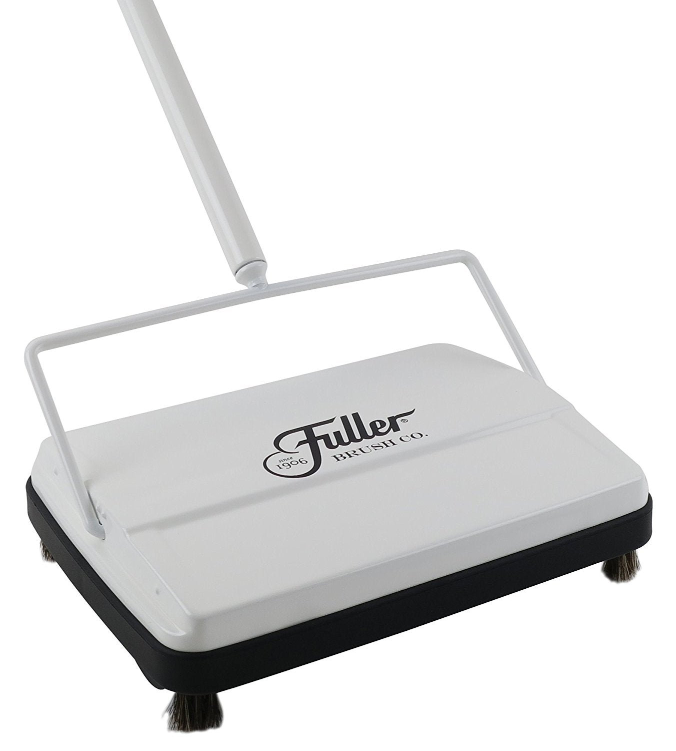 Electrostatic Carpet & Floor Sweeper - Bright White