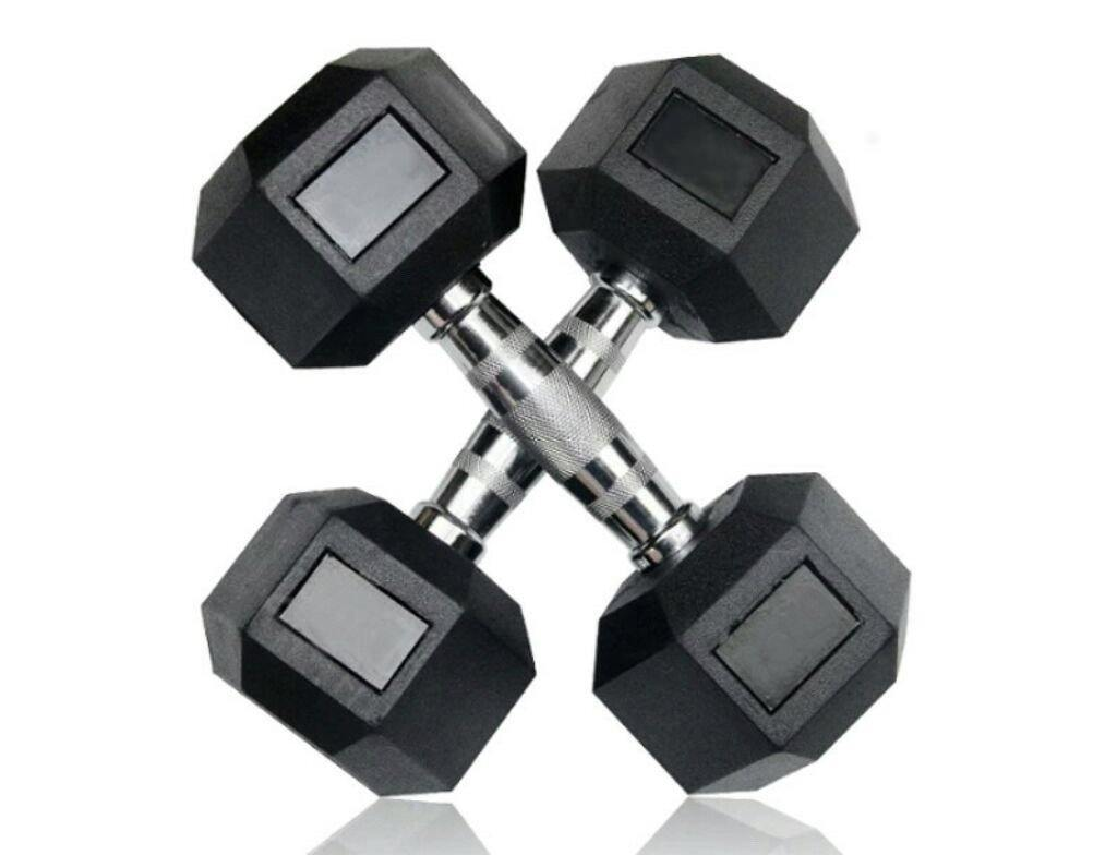 Hex Olympic Dumbbells (sold as a pair) - Tribe Collective Gear