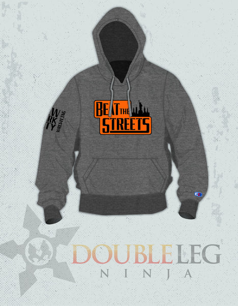 Beat the Streets NY Sweatshirt - Cliff Keen Extreme Fleece , Sweatshirt - Double Leg Ninja, Double Leg Ninja
