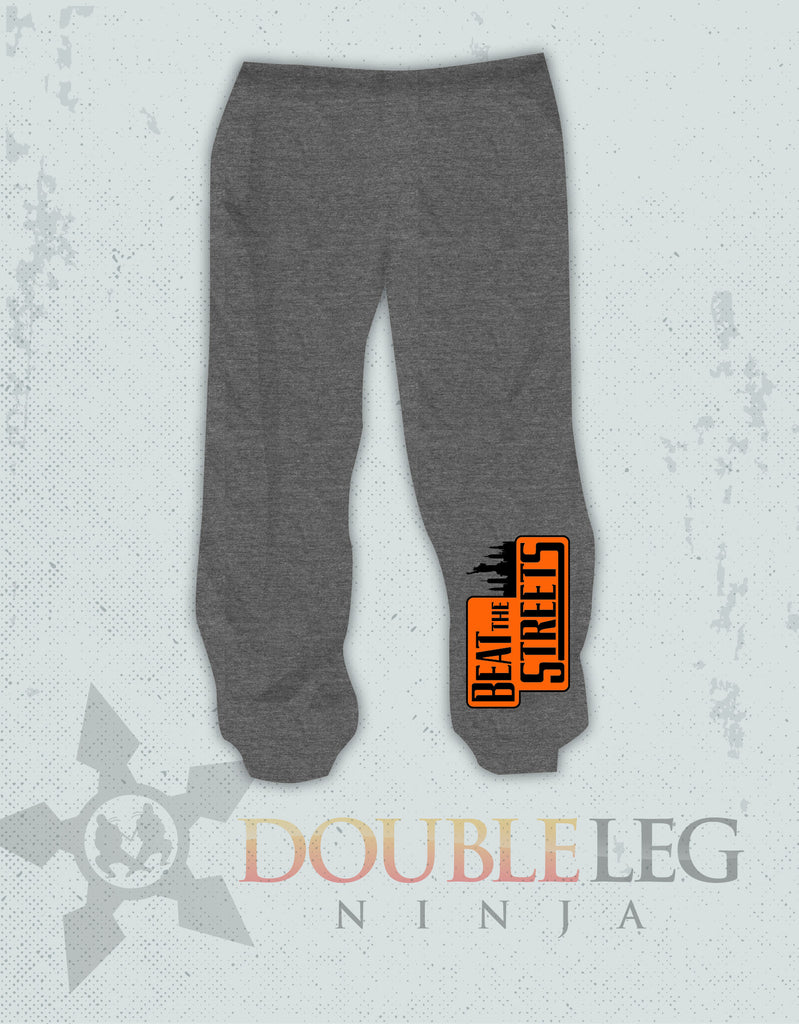 Beat The Streets NYC - Cliff Keen Extreme Fleece Sweatpants , Sweatpants - Double Leg Ninja, Double Leg Ninja - 1