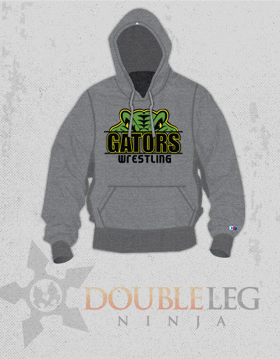 Crystal Lake Sweatshirt - Cliff Keen Extreme Fleece , Sweatshirt - Double Leg Ninja, Double Leg Ninja